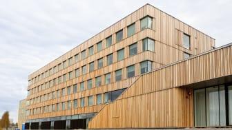 Konsthögskolan på Konstnärligt Campus vid Umeå universitet Foto: Mikael Lundgren
