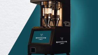 Roastelier slutrostar kaffebönor och gör det möjligt för alla serveringar att erbjuda färskrostat kaffe