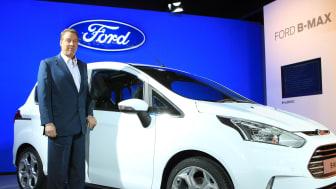 Ford SYNC gör Europa-debut i nya B-MAX