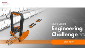 Tävling för ingenjörsstudenter: Första Toyota Logistic Engineering Challenge