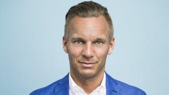Erik Slottner (KD) är äldre- och trygghetsborgarråd i Stockholms stad
