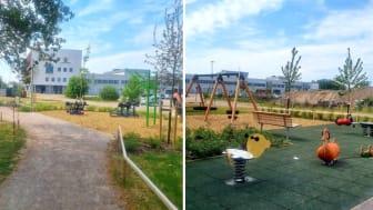 Välkommen till Ola Magnells park!