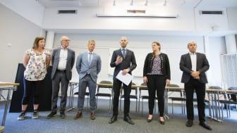 Etableringen tillkännagavs under en presskonferens med gruppledarna Catarina Ask (MP), Anders Sundström (SJVP), Johan Grön och (C),  Claes Nordmark (S) från Bodens kommun samt Hanna Eriksen (Fortum) och Michael Kempi (Fortum).