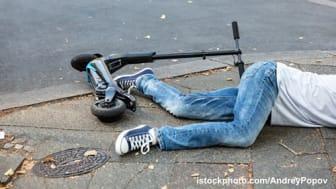 Hohe Unfallzahlen mit E-Scooter nach Alkoholgenuss