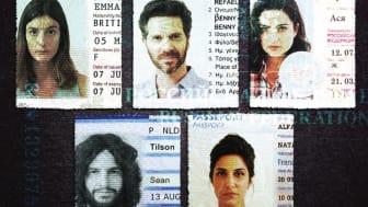 Under falsk identitet (originaltitel Kfulim) är en israelisk verklighetsbaserad spionthriller i åtta avsnitt som kretsar kring Emma, Ben, Asia, Sean och Natalie.
