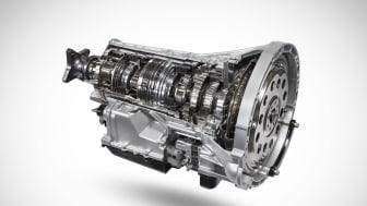 Fords nya tioväxlade automatlåda erbjuder enastående bränsleeffektivitet, hållbarhet och en förmåga att bogsera upp till 2,8 ton.