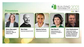 Building Sustainability – lyssna till världens främsta talare inom hållbart samhällsbyggande – 30 nov till 1 dec