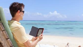 Kraftig vekst i salget av Kindle lesebrett hos Komplett.