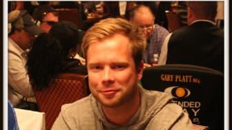 Robin Ylitalo inför WSOP 2013 Dag 3