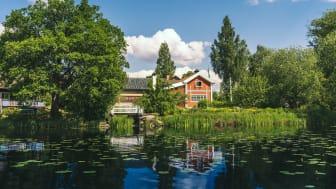 Carl Larsson-gården i Sundborn utgör ett av stoppen under Kulturresan i Dalarna. Foto: Erik Kilström