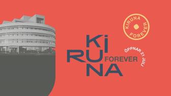 Storyspot del av utställningen Kiruna Forever på Konstmuseet i Norr
