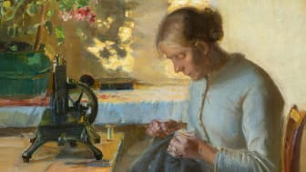 Anna Ancher, Syende fiskerpige. Ca. 1899. Randers Kunstmuseum