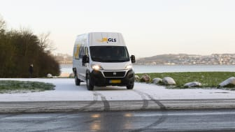 GLS Distributionsbil - vinter