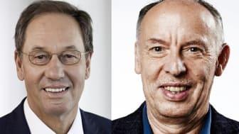 Prof. Dr. Franz Egle (li.), Aufsichtsratsvorsitzender JobNET.AG, Prof. Dr. Michael Nagy, Präsident der    Hochschule der Wirtschaft für Management.