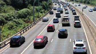M5 summer traffic near Bristol