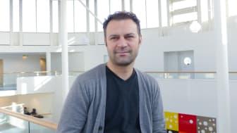 Ahmet Gümüscü, Institutionen för socialt arbete. Bild: Ellinor Gustafsson