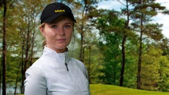 Malux stolt sponsor av golftalangen Evelina Gulliksson