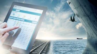 I Port Optimizer Track & Trace går det enkelt att filtrera fram information för sitt gods och sedan följa det i realtid från kajkant till inlandsdestination. Foto: Göteborgs Hamn AB
