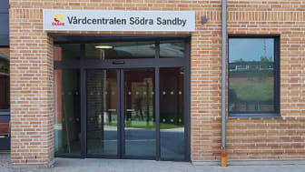 Vårdcentralen Södra Sandby har flyttat in nya lokaler på Trissogatan 1-3.