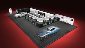 Bridgestone är tillbaka  på bilmässan i Genève