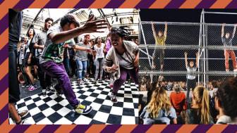 All Style Battle, workshops och dans på metallbur i Lunds Stadspark
