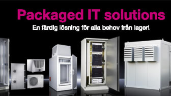 Rittal Packaged IT solutions!