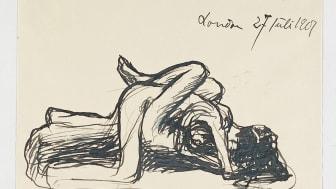 Gustav Vigeland, Mann og kvinne, 1901. Gjengitt med tillatelse fra Vigelandmuseet.