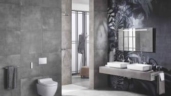 Ifö VariForm ger en ny typ av tvättmiljö för de som vill anpassa tvättstället efter utrymmet och söker något utöver en vanlig standardlösning.