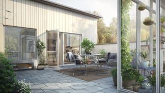 Riksbyggen uppför 35 brf par- och radhus i Herralyckan i Ulricehamn