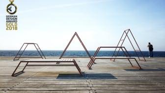 Kebne outdoor gym, design Kauppi & Kauppi