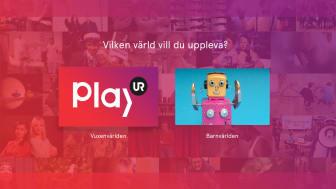Nu finns UR Play i den fjärde generationens Apple TV. I Barnvärlden finner du utbudet för barn upp till cirka 12 år.