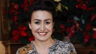 Anna Gouteva och Stars for Europe skapar julstämning med julstjärnor på Slagthuset