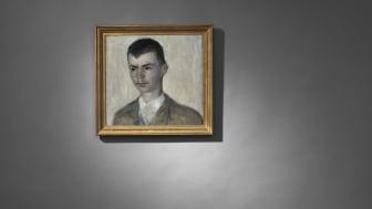 Hammershøi. Portrait of the artist's brother, Svend Hammershøi