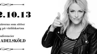 Sveriges roligaste kvinna leder Jönköpingsgalan den 13 oktober