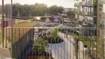 Bygglov klart för Riksbyggens Bonum Brf Boulogner i Skövde