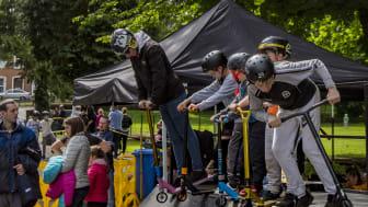 People's Park host Action Sport Extravaganza