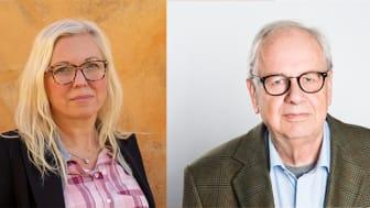 Veronica Magnusson Hallberg, Ordf. Svenska Downföreningen och Harald Strand, Ordf. Riksförbundet FUB.