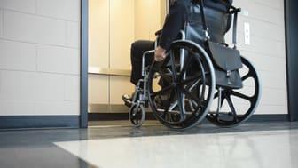 Viktigt att undvika rulltrappor med rullstol, rollator och barnvagn
