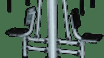 Gymredskap- sittande bänkpress