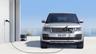 Land Rover och Jaguar på eCarExpo