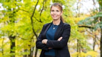 Maria Ådahl, vd Landvetter Södra Utveckling AB, är ny ledamot i Gröna Städers styrelse.