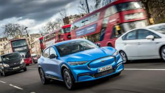 Mustang Mach-E går i spetsen för Fords snabbt växande utbud av elektrifierade bilar.