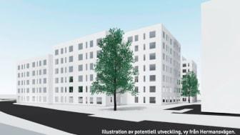 Riksbyggen förvärvar fastighet i Rosenlund, Jönköping