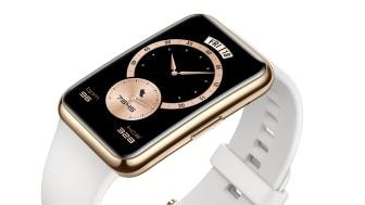 Huawei Watch Fit Elegant i färgen Frosty White