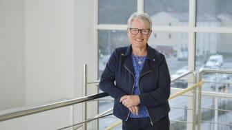 Charlotte Axelsson är ordförande i SKB, Stockholms kooperativa bostadsförening. Foto: Christofer Dracke