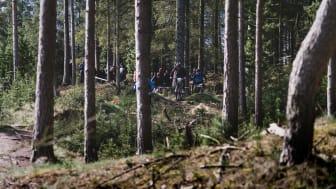 Mountainbike er blot et blandt mange tilbud til de 13-18-årige.