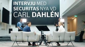 I veckan tillträdde Securitas Sveriges nya vd, Carl Dahlén, posten.  Foto och filmproduktion: Securitas Sverige AB.