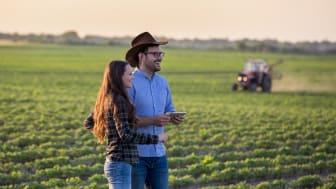Den nya Smart Spraying-teknologin från BASF och Bosch skyddar grödorna och hittar ogräset.