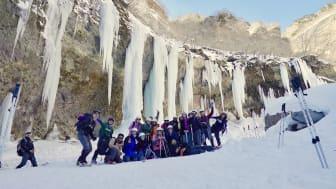 Snow-trekking in the Unryu Valley