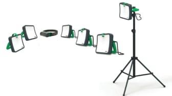 Thorsman LED-arbeidslamper fra Schneider Eletcric, energieffektive og motstandsdyktige, passer for alle type oppdrag.